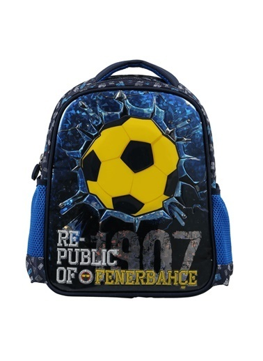 Fenerbahçe Fenerbahçe Anaokulu Çantası Brick Ball 1907 3622 Renkli